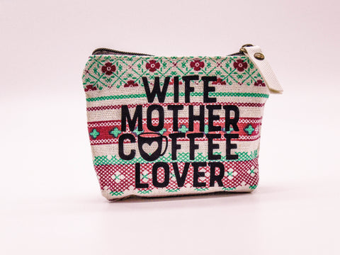 Mask Bag - Wife, Mother, Coffee-Lover