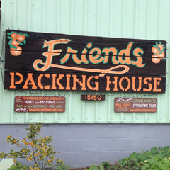 The Friend's Ranches packinghouse