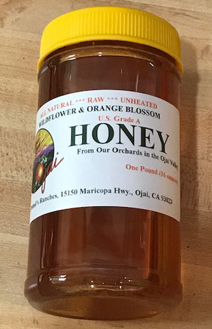 Friend's Ojai Honey (shipping included in prices)