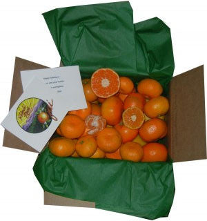 Tasty Ojai Tangerines (a mix of tangerine varieties!) ships mid-January