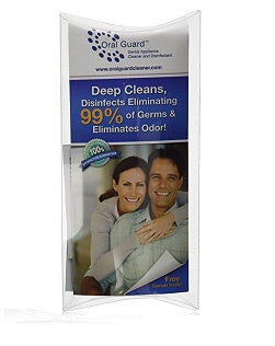6 MONTH SUPPLY ORAL GUARD PROFESSIONAL DENTAL NIGHT GUARD CLEANER AND DISINFECTANT