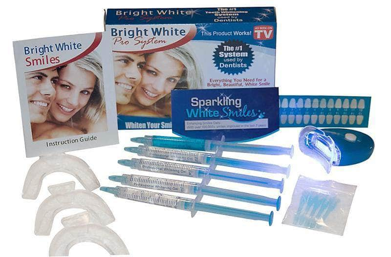 PROFESSIONAL SPA TEETH WHITENING SYSTEM BY SPARKLING WHITE SMILES, WHITENS & BRIGHTENS UP TO 6 SHADES IN 2 DAYS, EFFECTIVE RESULTS, EASY TO USE