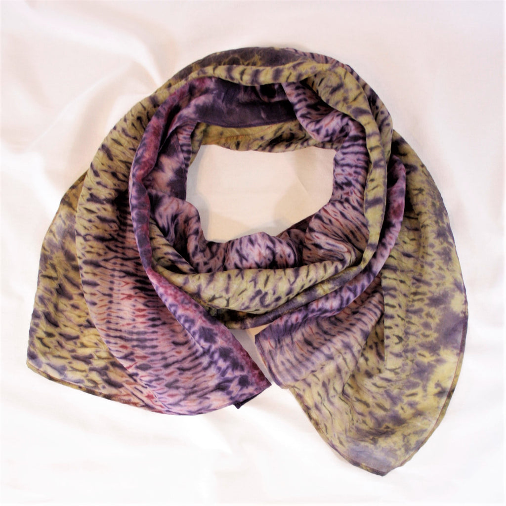 "Lightweight Silk Scarf, 14""x 72"""