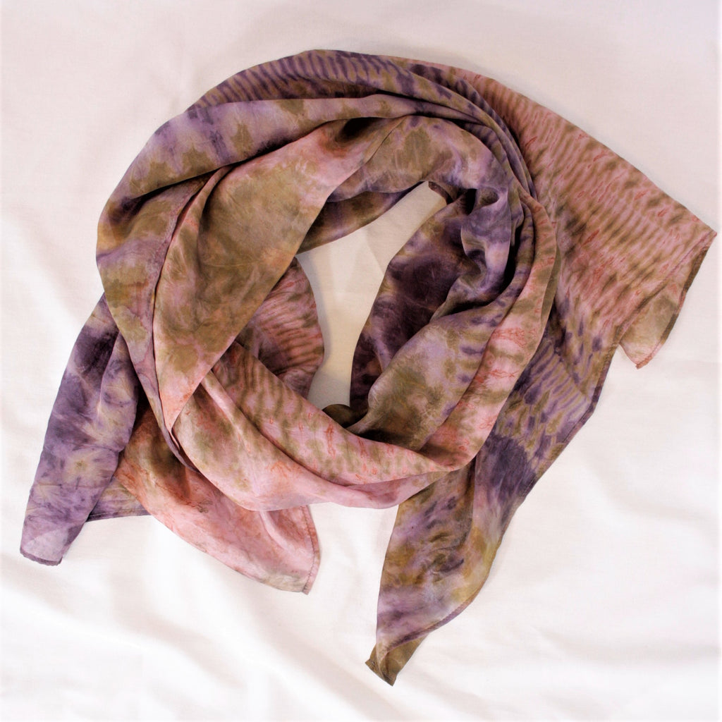 "Lightweight Silk Scarf,  23"" x 72"""