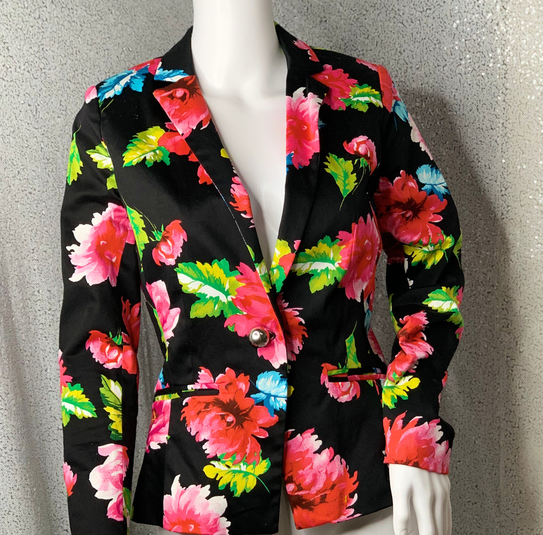 Blazer of Forever Flowers
