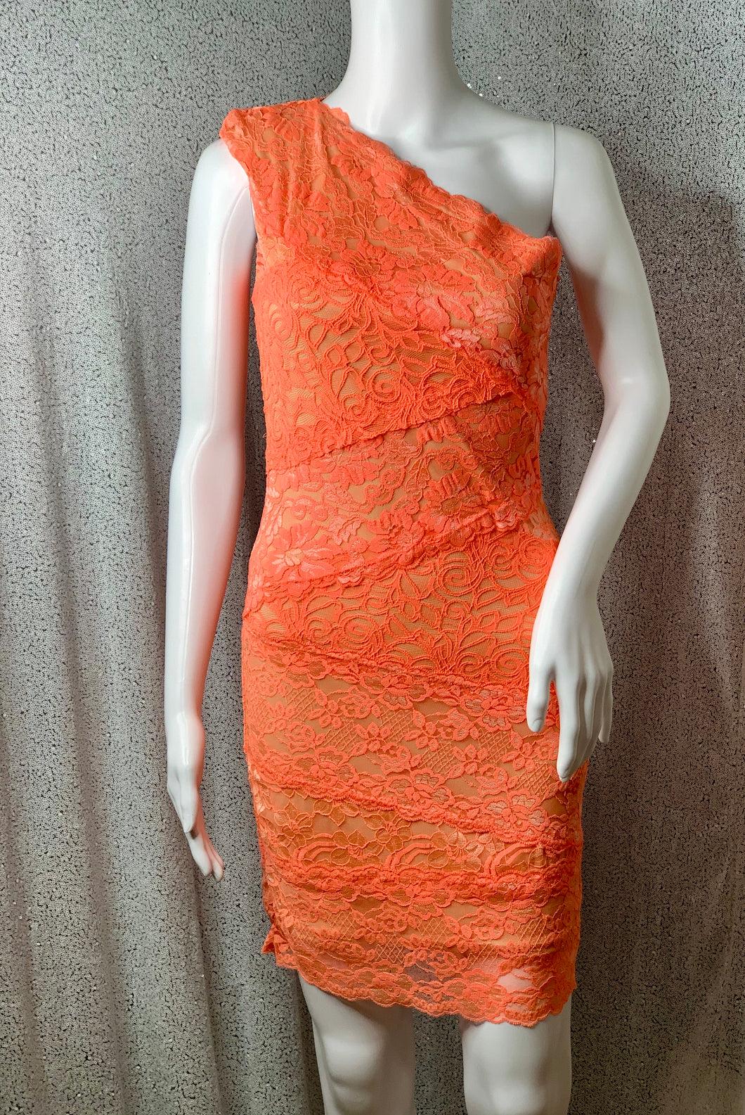 Pretty in Peach Lace Dress
