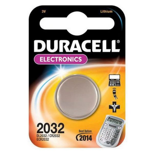 Lithium-Knopfzelle DURACELL DRB2032 CR2032 3V
