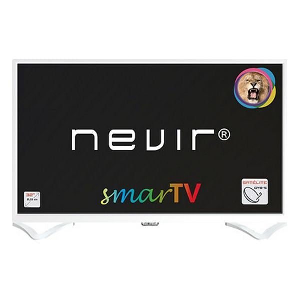"Smart TV NEVIR NVR-8050-32RD2S 32"" HD Ready LED LAN Weiß"