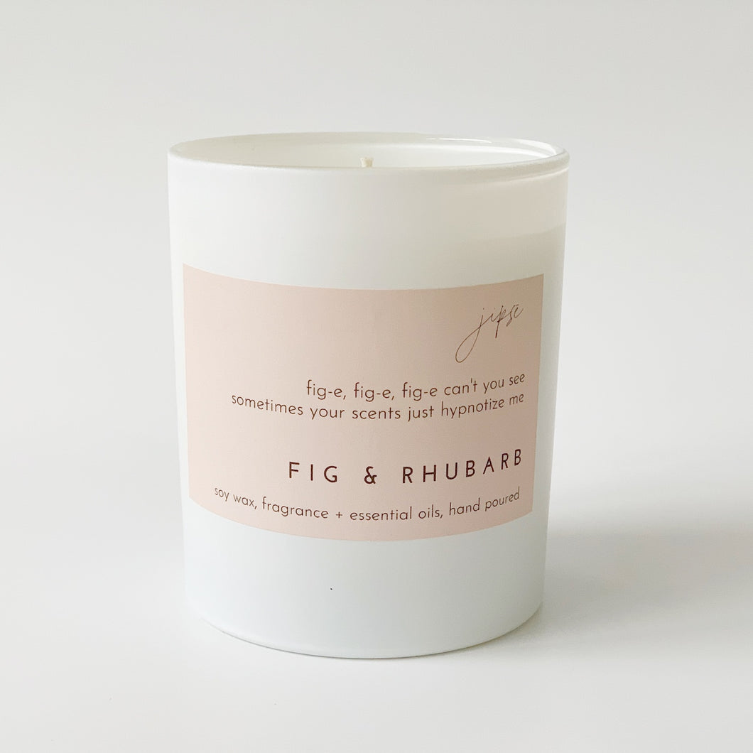 FIG & RHUBARB CANDLE