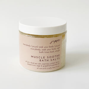 MUSCLE SOOTHE BATH SALT
