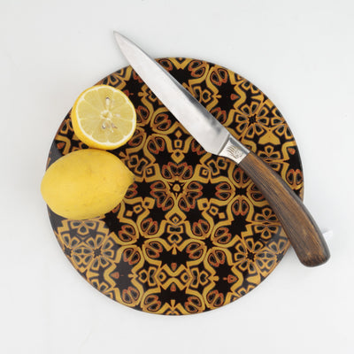 Black & Gold G&T lover lemon slicing board