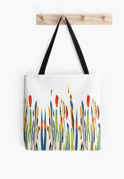 Pretty meadow beach bag - DoodlePippin