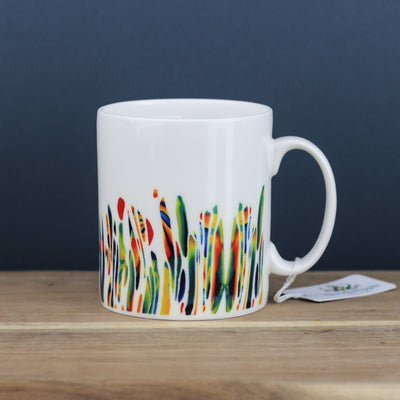 Large Bone China Gardener Mug - DoodlePippin