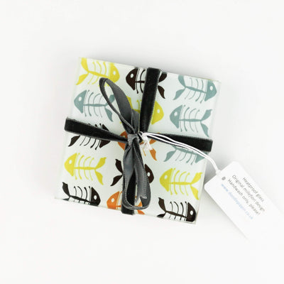 Scandi Bonefish Coaster Set