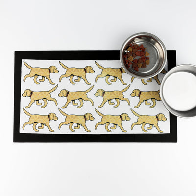 Golden Labrador / Labradoodle Pet food mat - DoodlePippin