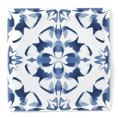 Blue white patchwork tiles - mix and match to create a design unique to you!
