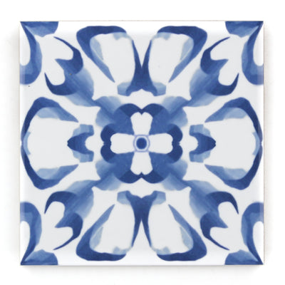 Delft Blue and White Tile