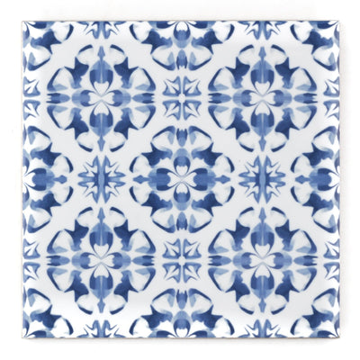 Delft kitchen tile - blue and white ceramic