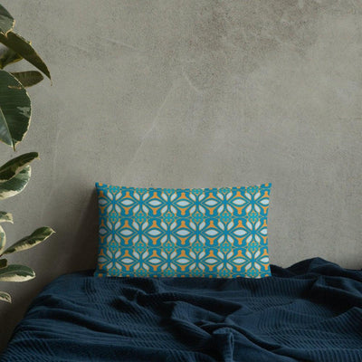 Pretty Turkish Design Pillow - COVER ONLY - DoodlePippin