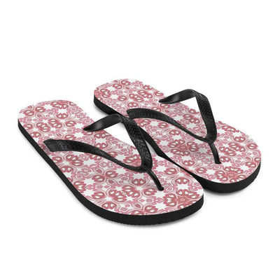 Pretty Pink-Purple flip flops, pastel beach thong shoes, girls sandals, holiday wear, beach slip-ons. - DoodlePippin