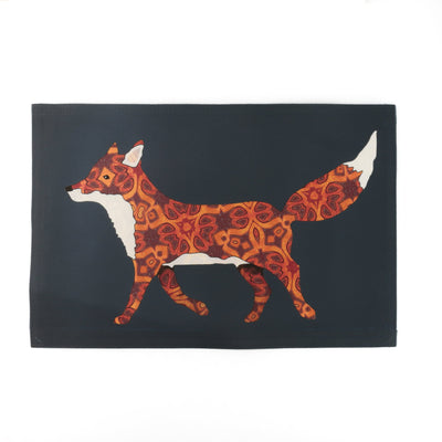 Red Fox Dining Table Place Mat - DoodlePippin
