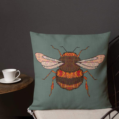Bumble Bee Pillow - PAD INCLUDED - DoodlePippin