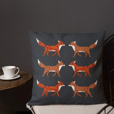 Red Fox Cushion - Cover only - DoodlePippin