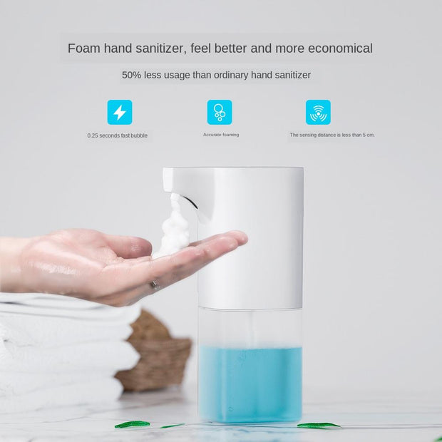 Intelligent Automatic Sensor Foam Soap Dispenser Smart Induction Foam Dispenser Auto Liquid Soap Dispenser Touchless Hand Washer - Phoenix Massager Store