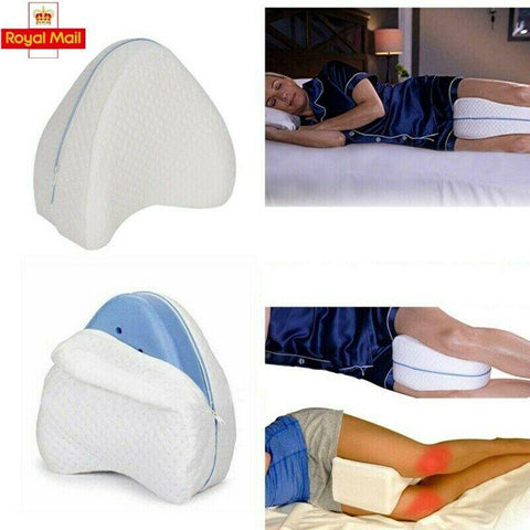 Memory Cotton Leg Pillow For Sleeping Orthopedic Sciatica Back Hip - Phoenix Massager Store