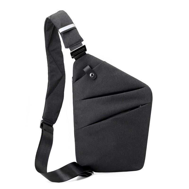 Inclined Shoulder Bag Storage Backpack