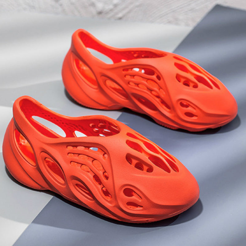 Men Sports and Leisure Hole Shoes