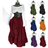 Medieval Court Style Elegant Cosplay Dresses