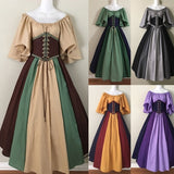 Halloween Cosplay Costumes Medieval Dress