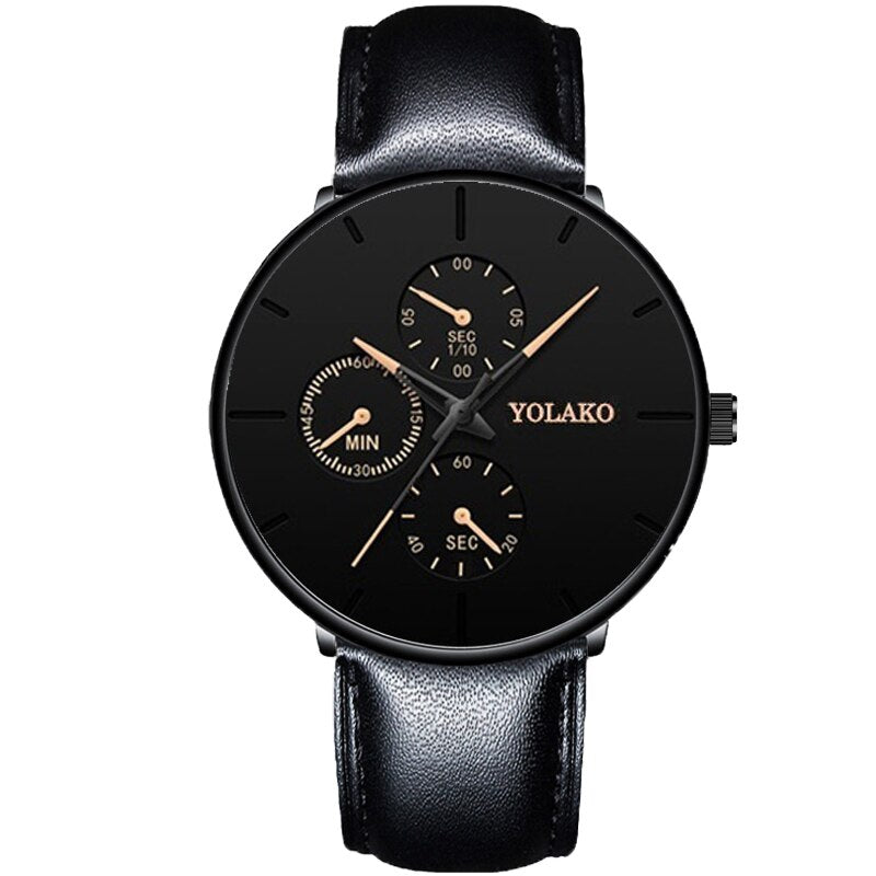 Business Black Watches Luxury Classic Watch