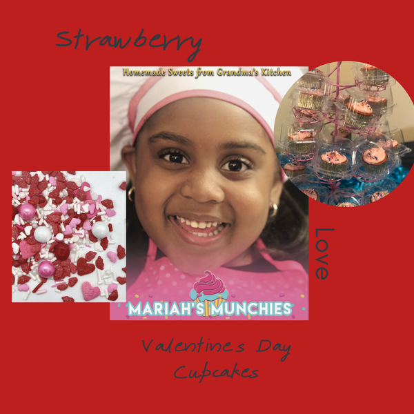 Strawberry Signature Cupcakes-25 cupcakes - Local Delivery Only