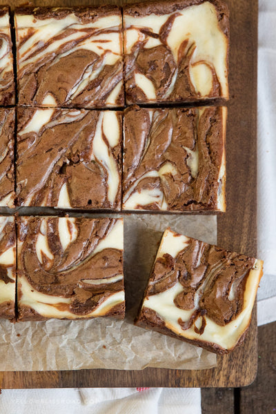 Brownie Swirls- 1 1/2 Dozen - Available for Local and Out of State Delivery.