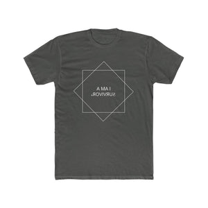 """I am a Survivor"" Men's Cotton Crew Tee"