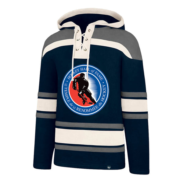 47 Brand Men's Heavy HHOF Lace Up Hoody
