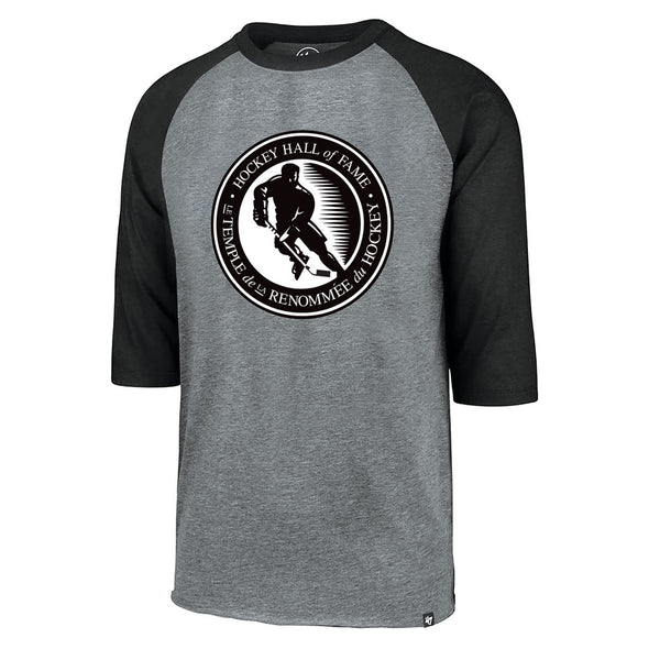 47 Brand Men's Athletic Grey Raglan HHOF Shirt
