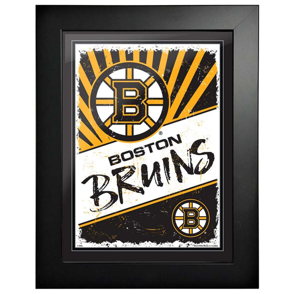 Boston Bruins 12x16 Classic Framed Artwork