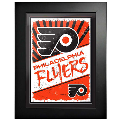 Philadelphia Flyers 12 x 16 Classic Framed Artwork