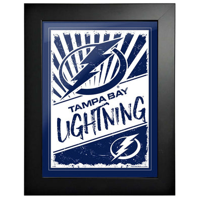 Tampa Bay Lightning 12 x 16 Classic Framed Artwork