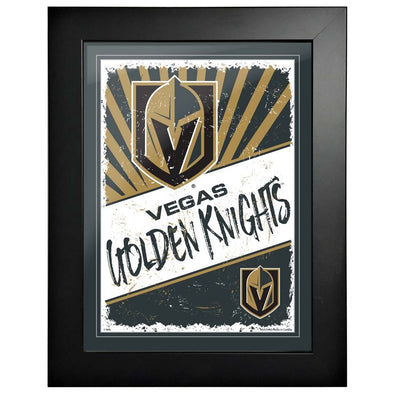 Vegas Golden Knights 12 x 16 Classic Framed Artwork