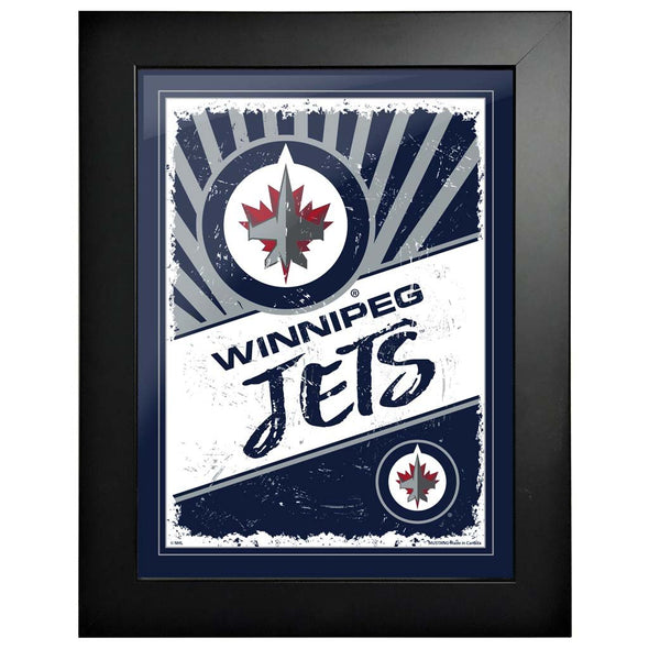 Winnipeg Jets 12x16 Classic Framed Artwork