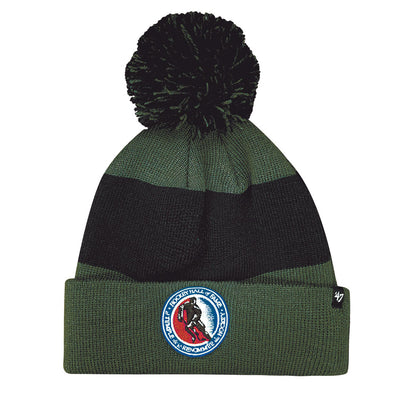 47 Brand Men's Grey/Black HHOF Pom Toque