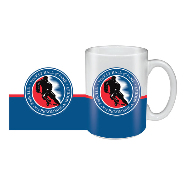 Hockey Hall of Fame 15oz. Sublimated Logo Ceramic Mug