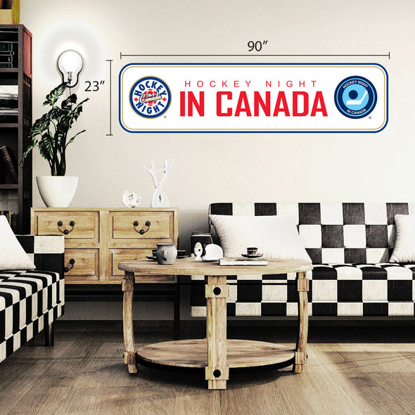 Hockey Night in Canada 90x23 Repositional Wall Decal