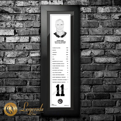 2007 Mark Messier - NHL Legends 6x22 Frame