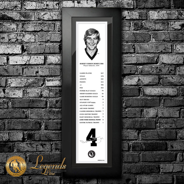 1979 Bobby Orr - NHL Legends 6x22 Frame