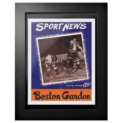 Boston Bruins Program Cover - Sport News Boston Collision